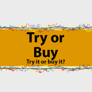 Group logo of TRY or BUY