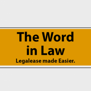 Group logo of The Word in Law